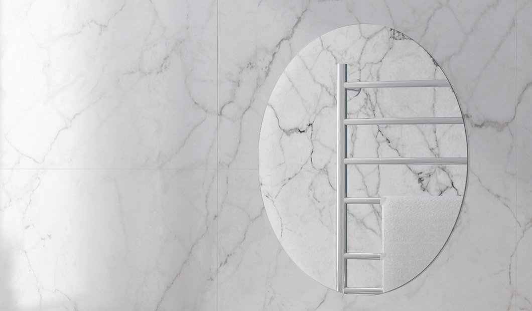 moderne og vakker speil fra Duxa til dit bad