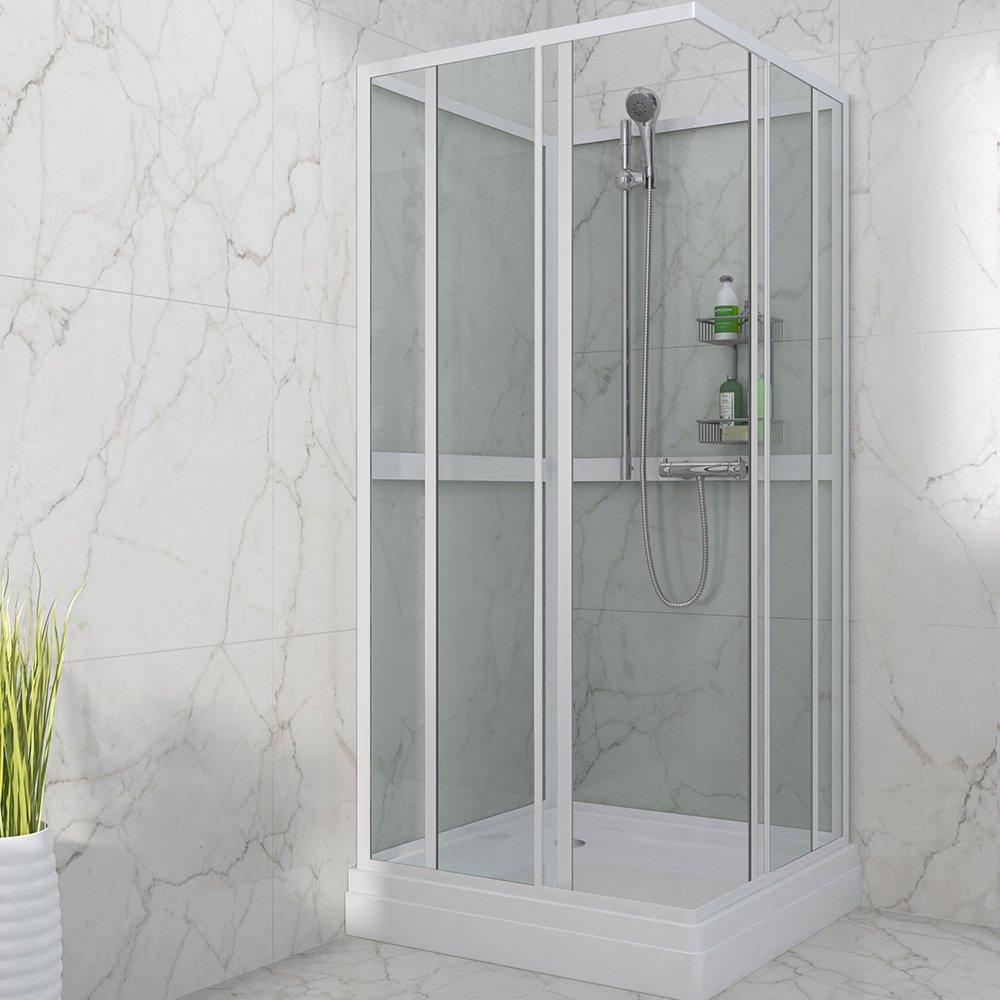 Moderne dusjkabinett i stilig design til ditt bad fra Duxa