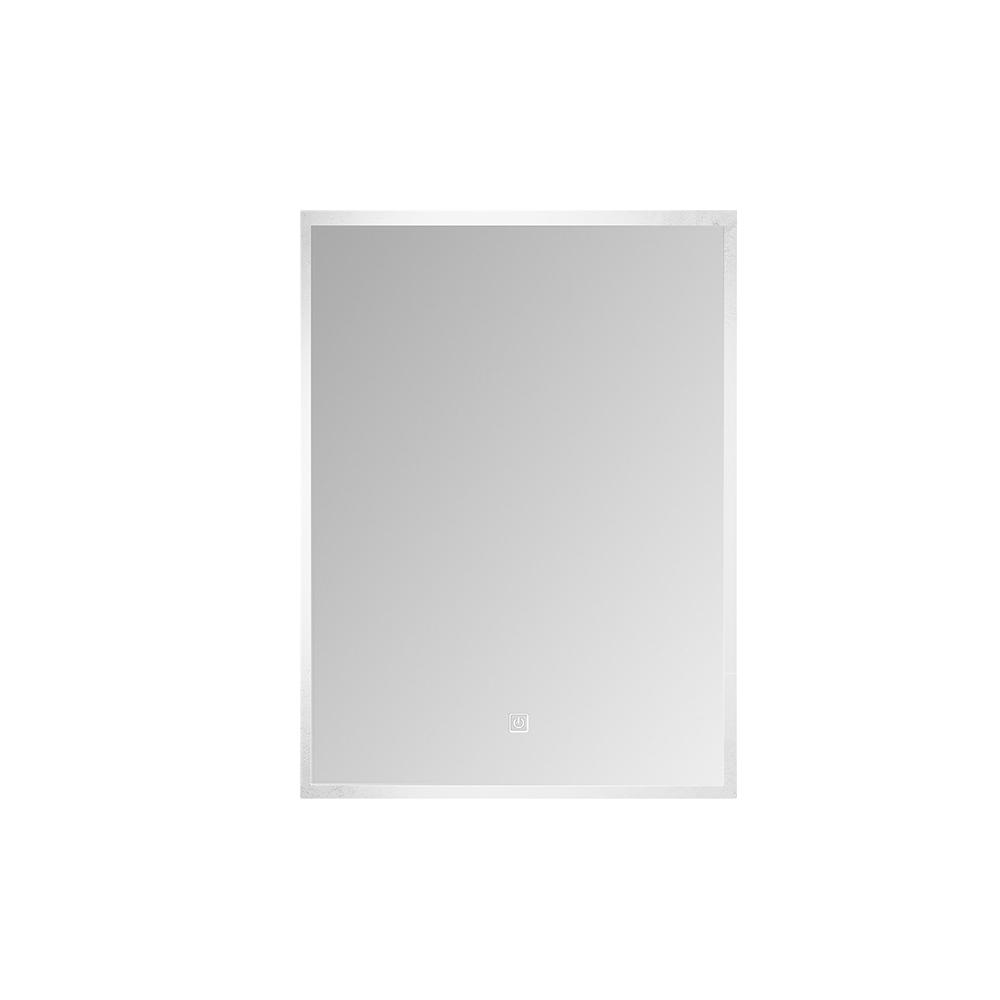 Speil med lys i moderne design