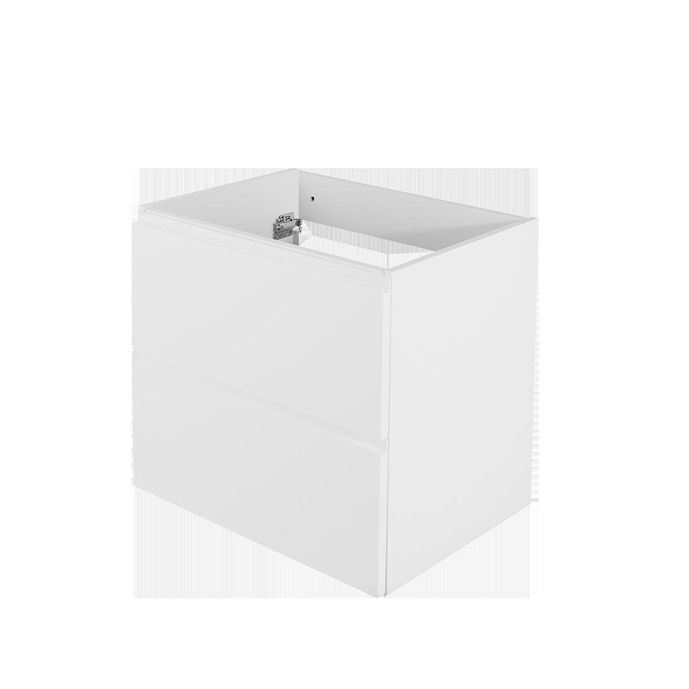 Baderomsmøbel uten synlige håndtak fra Duxa