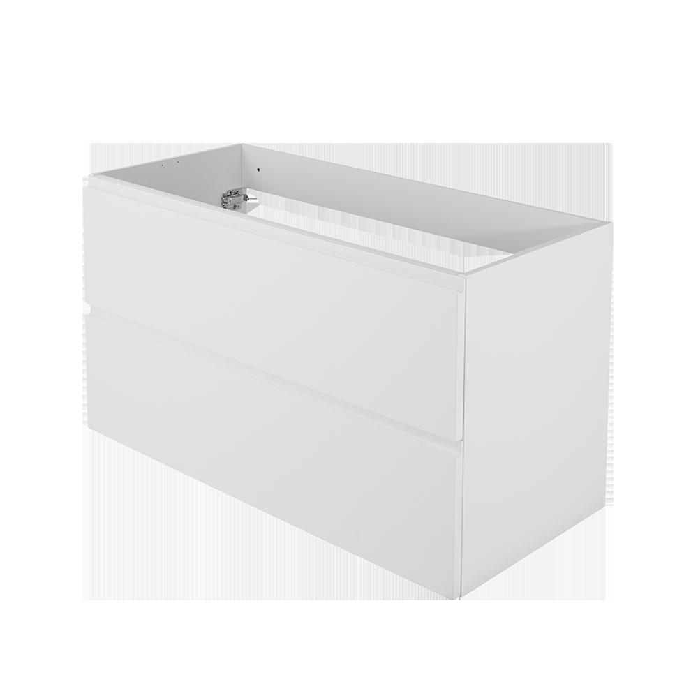 Baderomsmøbel i fargen hvit og moderne design fra Duxa