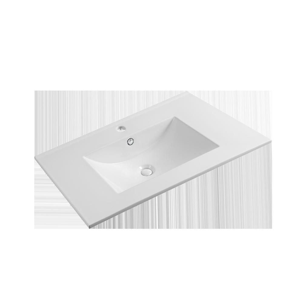 Saxe Form Helservant i fargen hvit til baderomsmøbel fra Duxa