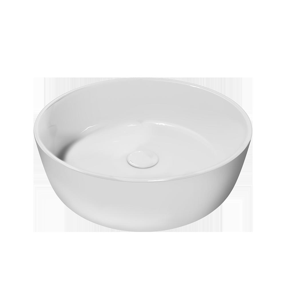 Servant i fargen hvit til ditt baderomsmøbel fra Duxa
