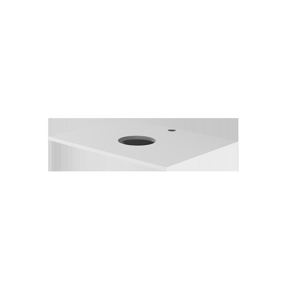 hvit topplate fra Duxa til dit bad