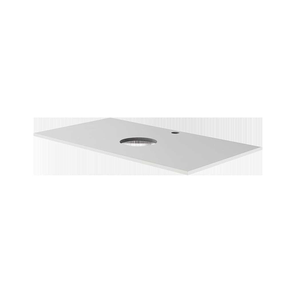 hvit topplate fra Duxa