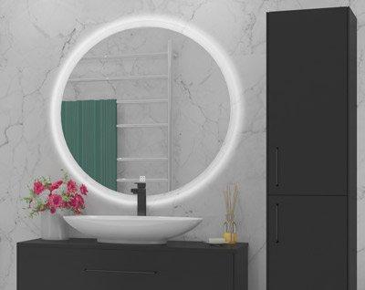 Vakkert og moderne speil fra Duxa