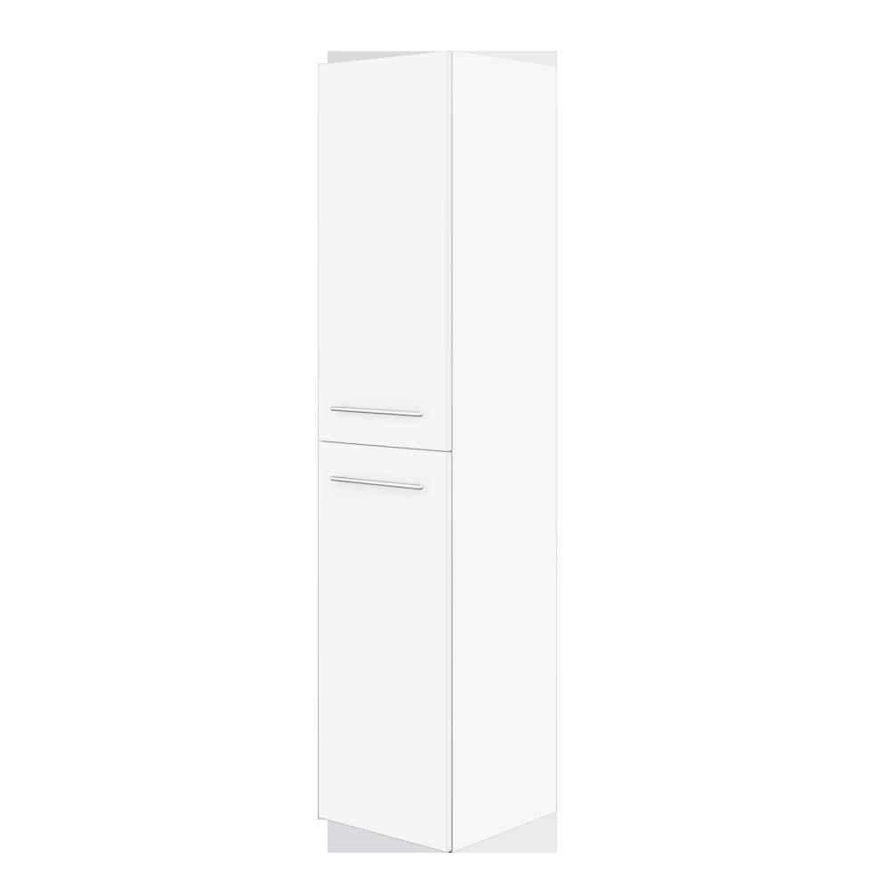 Saxe Form høyskap 35x35x155 cm passer perfekt sammen med Saxe Form baderomsinnredning.