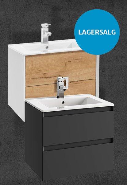 Duxa lagersalg - outlet baderomsmøbel